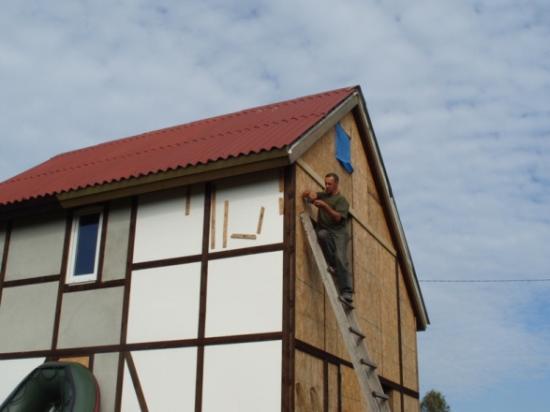 облицовке козырьков, балконов, лоджий