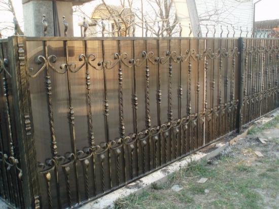 Художественный забор