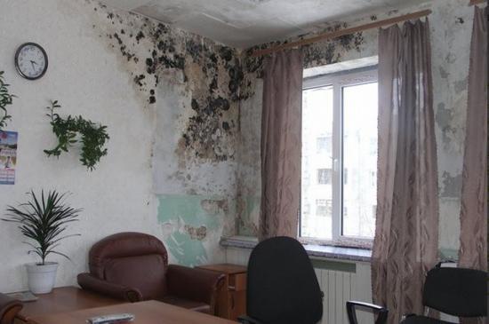 Влажные и теплые помещения с застойным воздухом