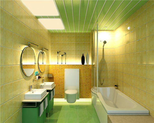 Как сделать ванную комнату пластиковой панелью