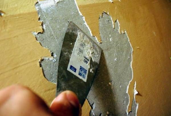 Удаление старого отделочного материала