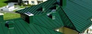 Чем покрасить металлическую крышу