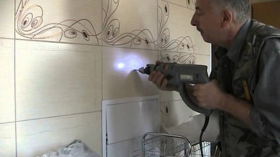 Сверление кафельной плитки
