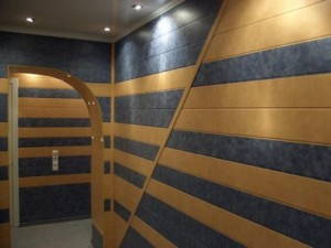 Отделка стен МДФ панелями