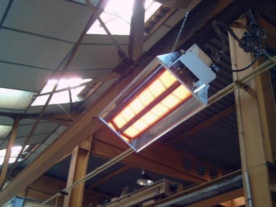 Температура нагрева рабочего элемента от 500 до 900 градусов