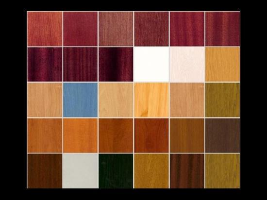 Широкая цветовая и фактурная гамма
