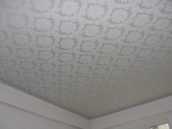 Натяжной потолок тканевый