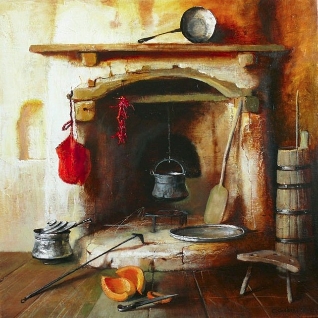 Отопление дома на твердом топливе