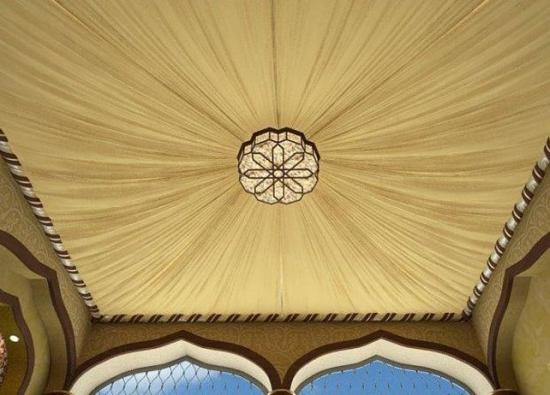 Потолок полностью экологичен