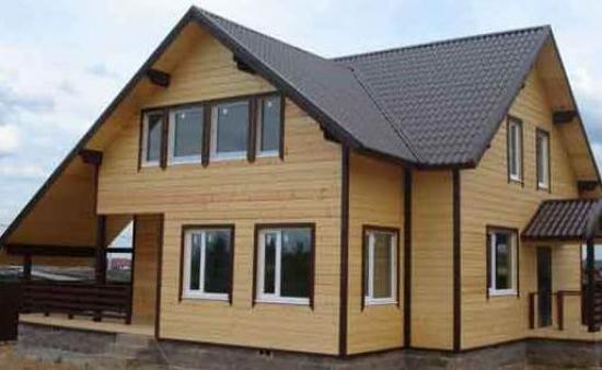 Дом построен по технологии ДОК