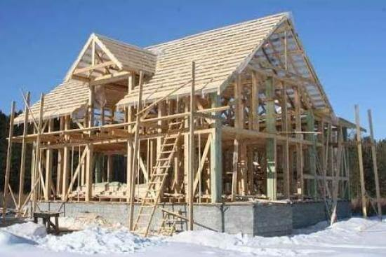 Каркасный метод строительства дома